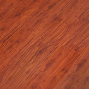 Red Mahogany YA771 12mm Gloss Laminate | Tanoa Flooring