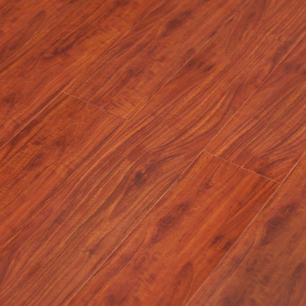 Red Mahogany YA771 12mm Gloss Laminate | Tanoa Flooring